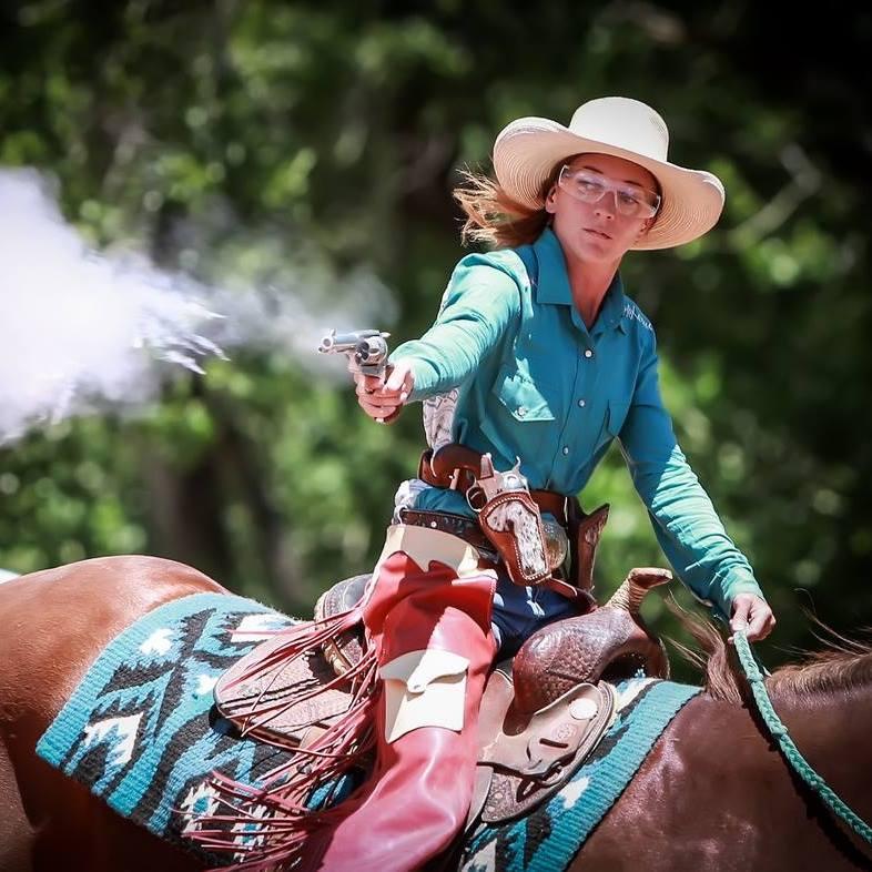 Megan Mounted Shooting