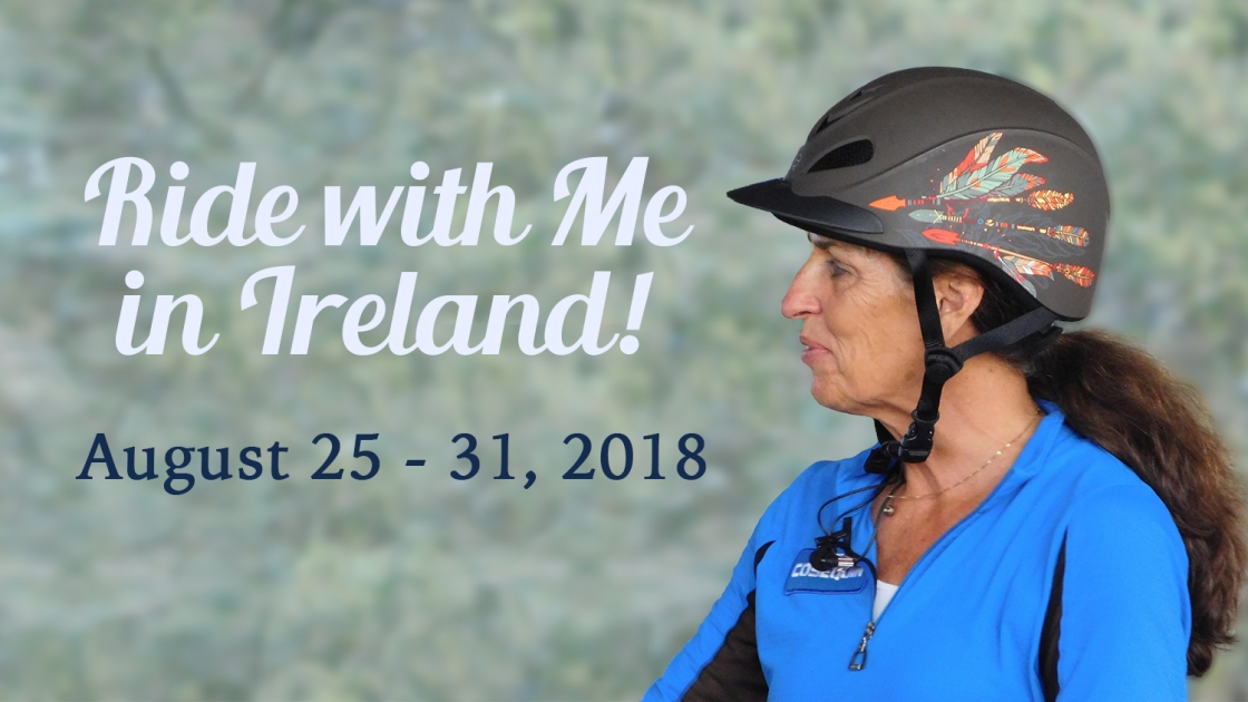 Ride with Me in Ireland! August 25-31, 2018